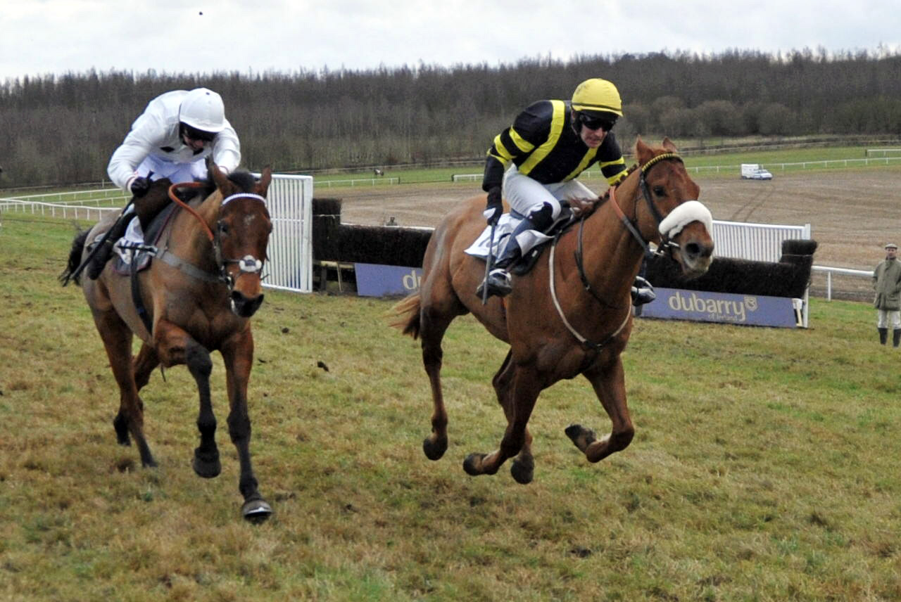 New List wins one of the first ever Point-to-Point Bumpers at Barbury